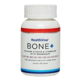 HealthViva Bone+ (Calcium Citrate & Vitamin D3 with Magnesium),  60 tablet(s)  Unflavoured