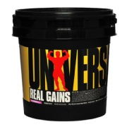 Universal Nutrition Real Gains,  6.85 lb  Strawberry Ice Cream