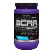 Ultimate Nutrition BCAA Powder,  1 lb  Blue Rasberry