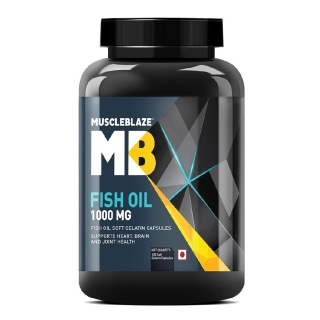 MuscleBlaze Fish Oil (1000 mg),  180 softgels