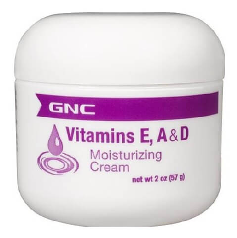 GNC Vitamins E, A & D Moisturizing Cream,  57 g  Hexane Free