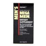 GNC Mega Men,  Unflavoured  200 tablet(s)
