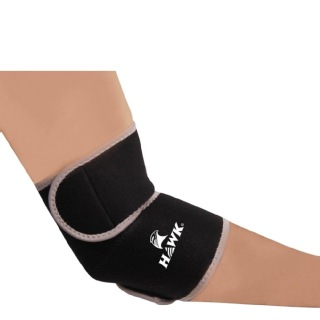 Hawk Elbow Support,  Black & Grey  Free Size