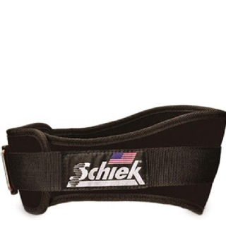 Schiek Workout Belt,  Black  Large