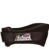 Schiek Workout Belt,  Black  Large