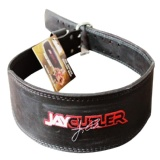Schiek Black Leather Jay Cutler Signature Belt,  Black  Small