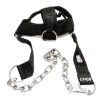 Schiek Adjustable Nylon Head Harness,  Black