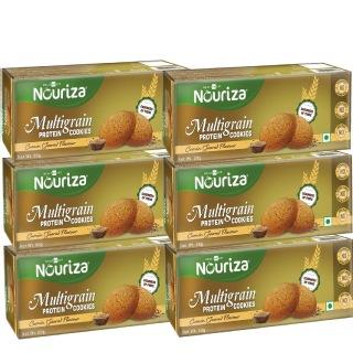 15 - Nouriza Multigrain Protein Cookies,  360 g  Cumin (6 x 60 g)