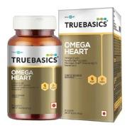 TrueBasics Omega Heart with Kaneka Q10 and Vitamin K2-7,  30 capsules