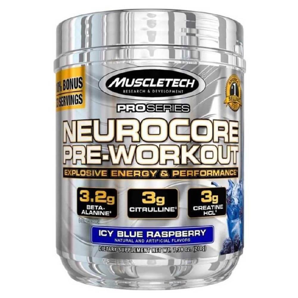 1 - MuscleTech Pro Series Neurocore,  0.46 lb  Icy Blue Raspberry